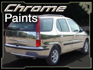 Peinture chrome for Effet miroir paint