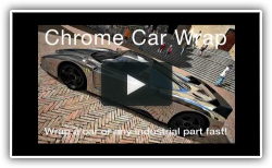 Chrome Car Wrap film from Alsa