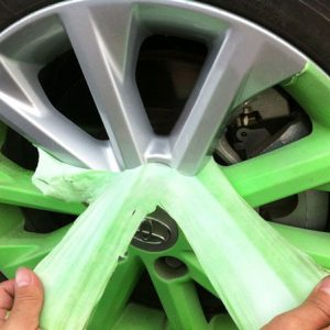 Peel Off Paint on Wheel